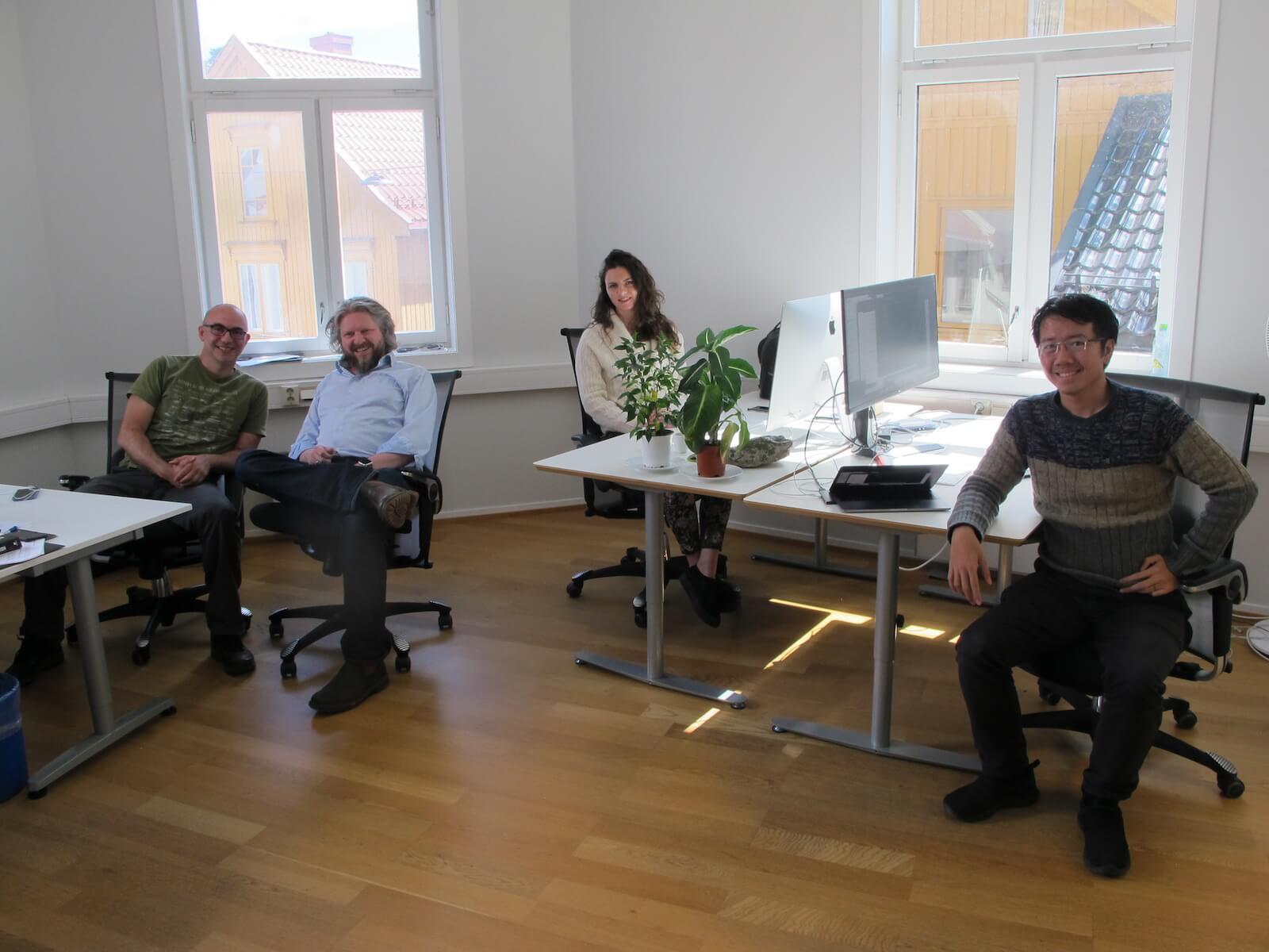 Geir trives som teknologigründer i Tønsberg