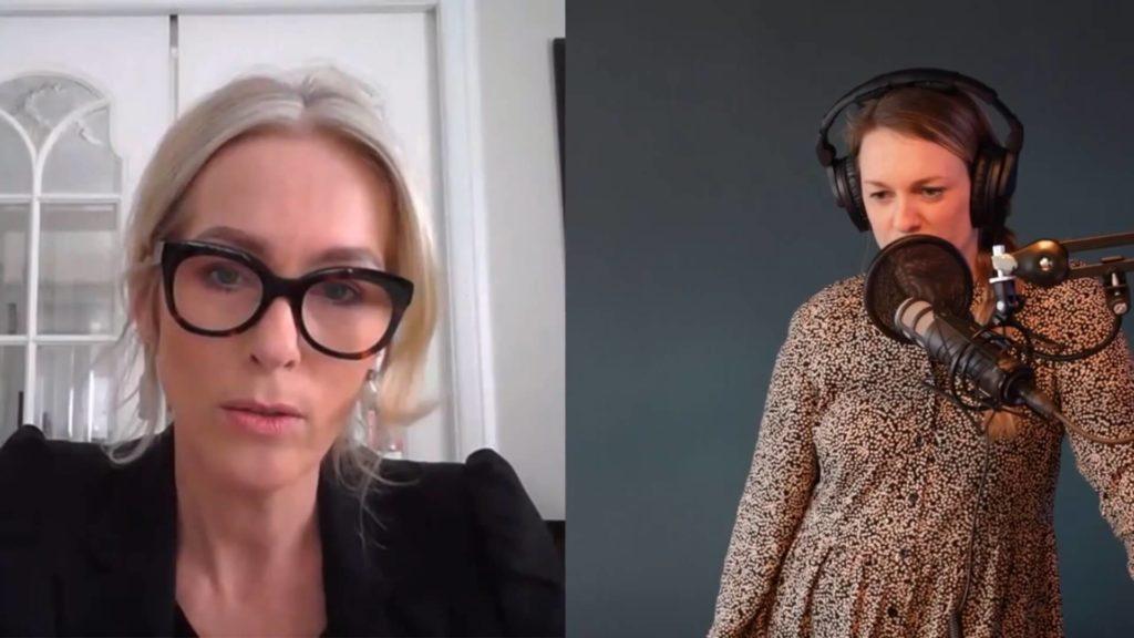 Anita Krohn Traaseth i første episode av Hi5-podden